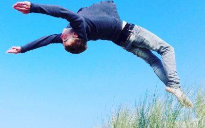 Een salto op Ameland